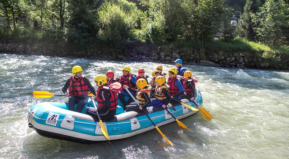 Rafting in Valle Aurina